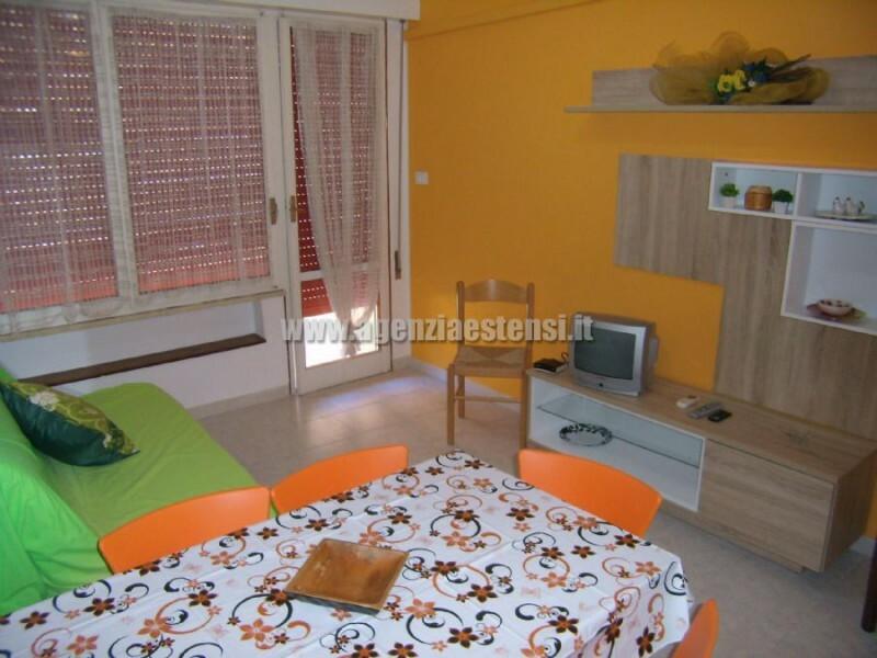 » condominio DELFINI: affitto appartamento BILOCALE con VISTA MARE a Lido degli Estensi