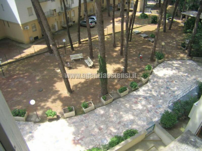 ampio giardino condominiale