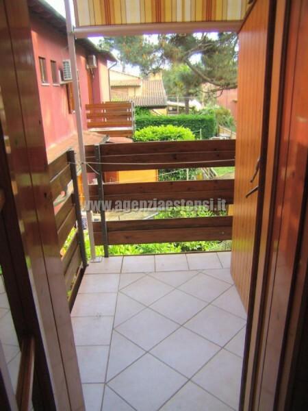balcone posteriore » Villetta LECCI: affittasi a Lido degli Estensi villetta in zona tranquilla e a pochi passi dal viale centrale