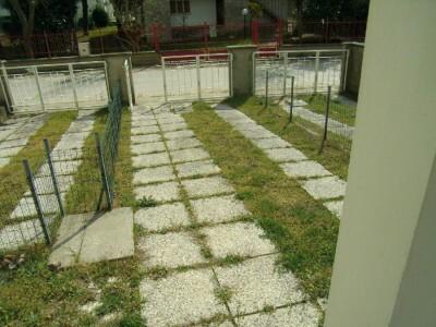 giardino e posto auto