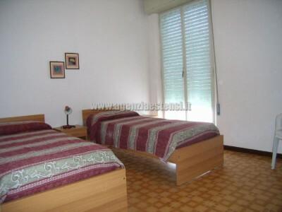 seconda camera matrimoniale con possibilità del terzo letto