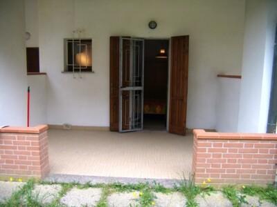 portico sul retro