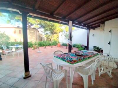 terrazza con veranda